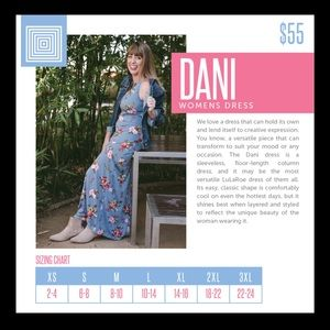 48795703398 LuLaRoe Dresses - LuLaroe Dani Dress